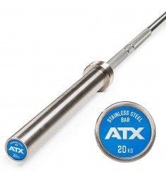 ATX® V4A Power Bar / Hantelstange - Edelstahl - Stainless Steel