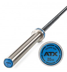 ATX® Training Bar 20 kg - Black Oxid / Chrome