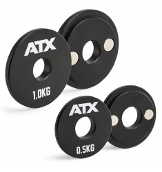 ATX® Magnetic Add-Weight / Magnetgewichte - 0,5 + 1 kg