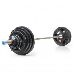 Vorteilspaket ✅ Heavy Duty - Langhantelsatz 127,5 kg (Kompakthanteln)
