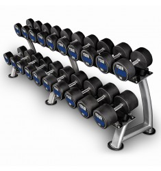 Urethan Dumbbell / Kompakthanteln - Customer Logo - in 2 kg Steps - Komplettsätze (CHD/Dumbbells)
