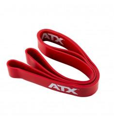 Widerstandsband - ATX® Quality Power Band ✅ aus Naturlatex Level 5 / 44 mm - rot