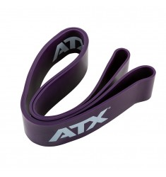 Widerstandsband - ATX® Quality Power Band ✅ aus Naturlatex Level 6 - Violett / 67 mm