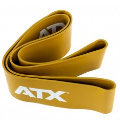 Widerstandsband - ATX® Power Band aus Naturlatex Level 8 - Gold / 100 mm