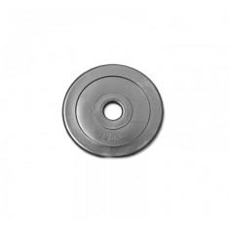 PE-Hantelscheibe - schwarz - 1,25 kg