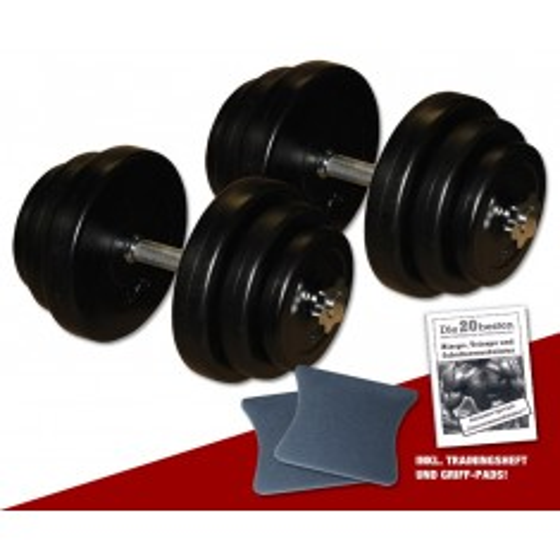 PE - Kurzhantel-Set 2 x 20 kg