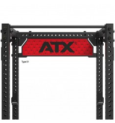 ATX® Logo Plate für Power Racks 800 Series