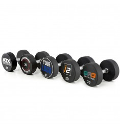 Urethan Dumbbells - Customer Logo - 2,5 kg - 60 kg (CHD/Dumbbells) - Beispiel