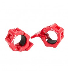 Quick Lock Collar Clamp 30 mm - rot
