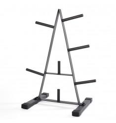 Hantelscheibenständer 30 mm (Ständer / Ablagen) - schräge Ansicht