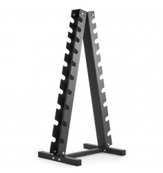 Hantelpyramide für 10 Paar Hanteln schwarz (Ständer / Ablagen)