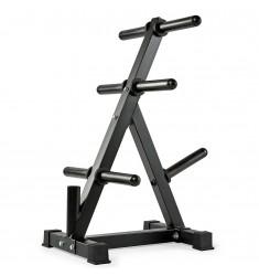 Weight Rack - Hantelscheibenständer - 50 mm Aufnahme mit Stangenfach
