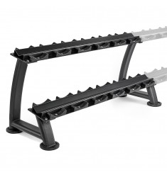 """""""Heavy Weight"""" Kurzhantelablage mit Ablageschalen - modular erweiterbar! (Ständer / Ablagen)"""