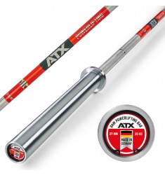 ATX® - XTP® Raw Powerlifting Bar – Made in Germany