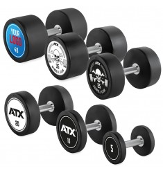 Rubber Dumbbell - Customer - Satz 5 - 40 KG (CHD/Dumbbells)