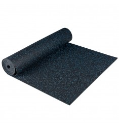 Gymfloor® Granit Design Rubber-Floor 5 mm - blue / blau - Rolle 12,5 qm