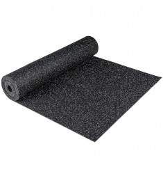 Gymfloor® Granit Design Rubber-Floor 5 mm - grey / grau - Rolle 12,5 qm