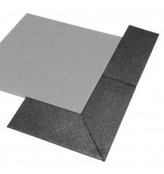 Gymfloor® - Rubber Tile - Aufgehelemente Rand und Ecken - 30 mm (Bodenbelag)