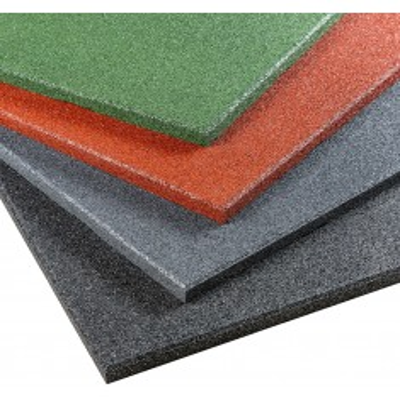 Gymfloor® - Rubber Tile Fitness 1000 x 1000 x 30 mm - in verschiedenen Farben (Bodenbelag Plattenware)
