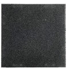 Bodenbelag - Rubber Tile System - Basisplatte 50 x 50 x 2 cm - schwarz