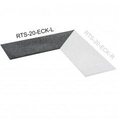 Gymfloor® Bodenbelag - Rubber Tile System - Aufgehkante 20 mm - Ecke - Links