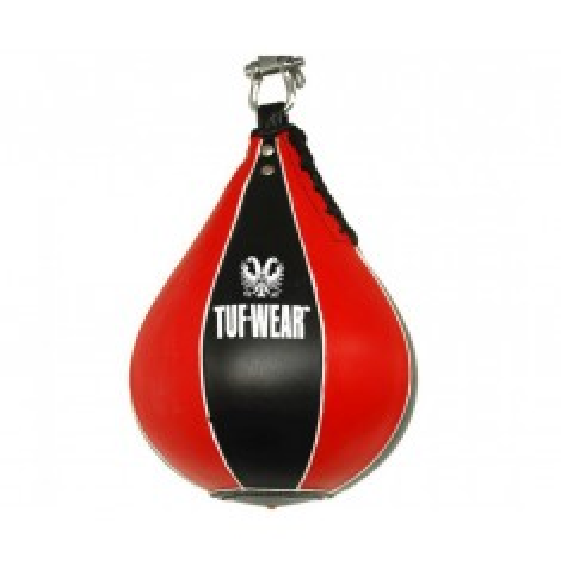 Speedball TUF Wear Leder rot/schwarz