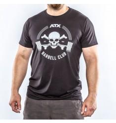 ATX® Barbell Club T-Shirt schwarz / black - Size M - XXL (Textilien)