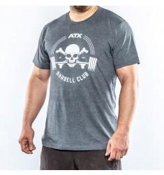 ATX® Barbell Club T-Shirt grau / grey - Size M - XXL (Textilien)