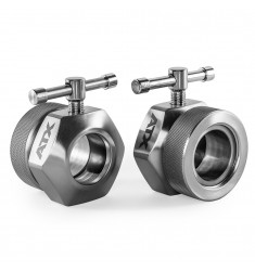 ATX® Competition Collar / Hantelscheibenverschlüsse 50 mm - extra kurze Ausführung -