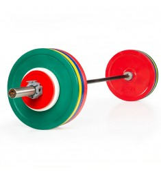 Vorteilspaket - Powerlift Training Set 175 kg - Bar Konfigurator