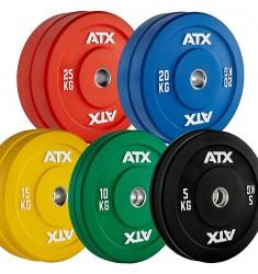 Vorteilspaket 150 kg - 50 mm ATX® Color Rubber Bumper - feste Sortierung