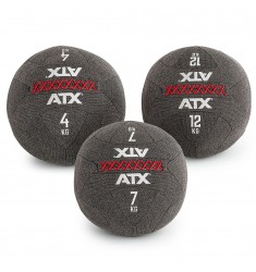 ATX PVC Wall Ball - Carbon-Look - 4 kg, 8 kg, 12 kg