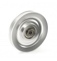 Seilrolle / Umlenkrolle - Aluminium Ø 115 mm für Kraftgeräte