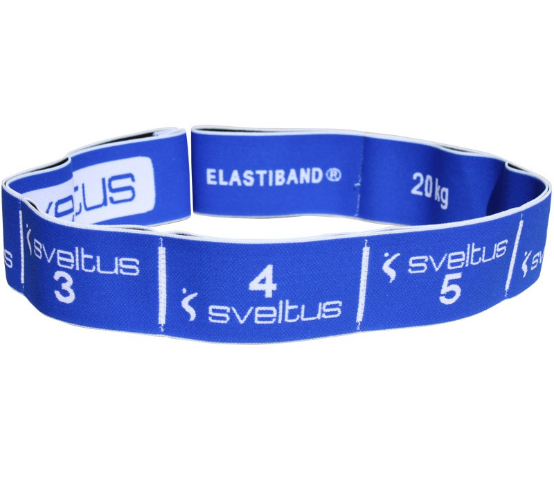 Sveltus Elastiband Level 3 - blau E-Band-L-03