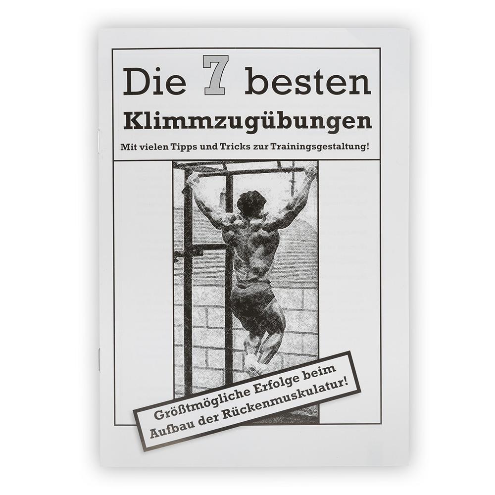 Megafitness Shop Heft - Die 7 besten Klimmzugübungen KLIMMZUG-HEFT