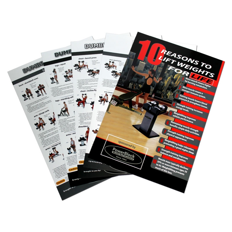 PowerBlock Inc. Powerblock Poster Set PB-PS