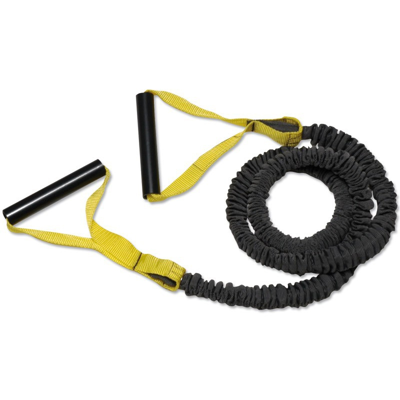 Megafitness Shop Premium Tube Stretchband Level 1 - leicht - gelb