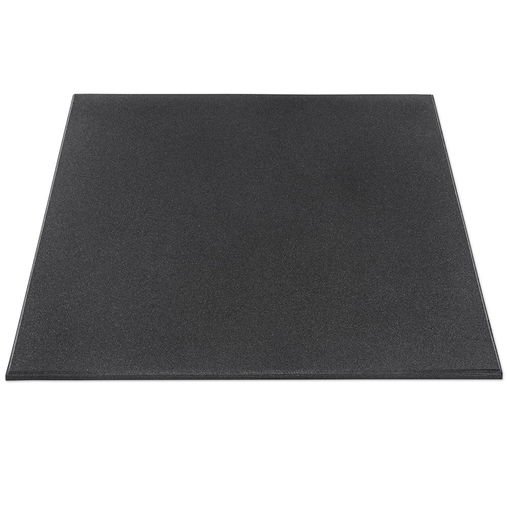 Gymfloor® - Granulat Bodenschutzplatte - Premium Extra fein - 1000 x 1000 x 15 mm RTF-15-900