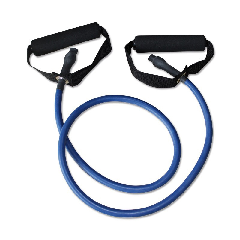Megafitness Shop Tube Deluxe Handle Stretchband Blau