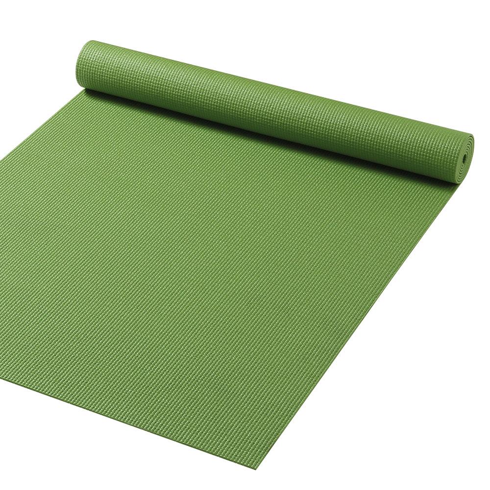 Gymfloor Yoga Matte - Grün 180 x 60 x 0,4 cm - Made in Germany YM-FRI-G