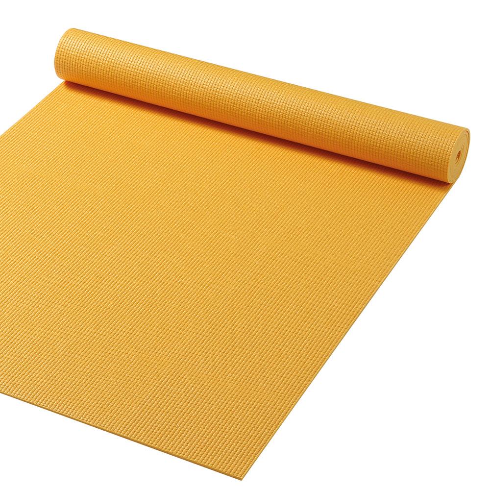 Gymfloor Yoga Matte - Gelb 180 x 60 x 0,4 cm - Made in Germany YM-FRI-Y