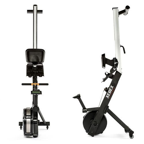 Der XEBEX® Air Rower gewährt ein sehr gelenkschonendes Ausdauertraining. Zudem ist das Gerät sehr platzsparend klappbar.